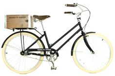 I want this bike! Brooklyn Cruiser, and it comes in a baby blue :).