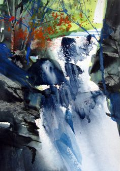 Image result for joe cibere how to paint waterfall youtube
