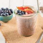 Lavender Chia Pudding with Blueberries and Figs kitchen.nutiva.com
