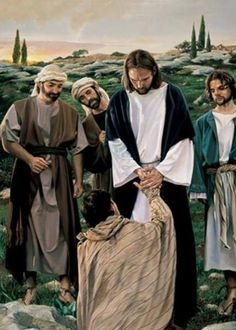 Jesus Heals a Leper - Luv this one