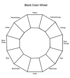 ... Color on Pinterest | Color wheels, Color wheel worksheet and Color
