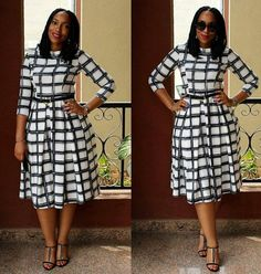 Hello dearies, as we always say comfortability is the key word to any outfits you put on. When it comes to picking/selecting church outfits, some people Church Dresses For Women, Office Dresses For Women, Church Outfits, Church Outfit Winter, African Attire, African Dress, Classy Dress, Classy Outfits, Modest Dresses