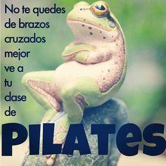 "@InspirahPilates's photo: ""No te quedes de brazos cruzados mejor ve a tu clase de #pilates | inspirahpilates.com | @Candia Raquel |"""