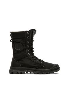 Palladium Ballistic Nylon   Specialty Leather Combo Pampa Tactical in Black    Metal  488ab860525
