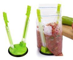 Jokari Baggy Rack Food Storage Bag Holder - 2 pack