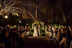 Evening Garden Wedding at Riverwood Mansion...this is where my daughter is getting married...GORGEOUS