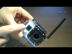 MAKElog FPV video transmitter inside GoPro case, rugged to survive crashes Gopro Case, Survival, Action, Group Action