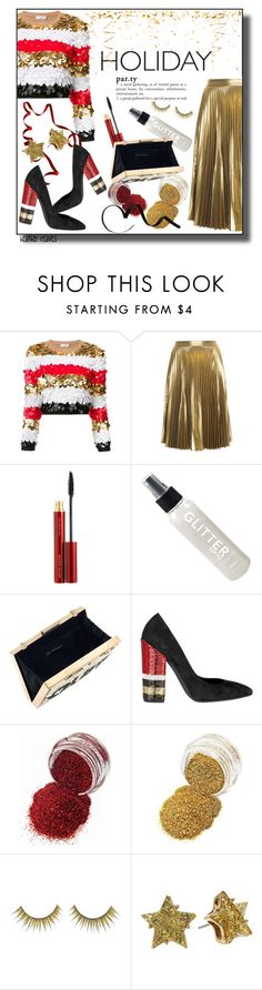 """Holiday Party"" by heather-reaves ❤ liked on Polyvore featuring Sonia Rykiel, A.L.C., Kevyn Aucoin, Miss Selfridge, Giambattista Valli, Forever 21 and Betsey Johnson"