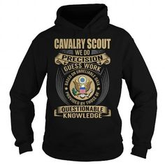 Cool Cavalry Scout Job Title V1 T-Shirts