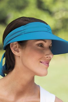15128b4a740 Keep the sun off your face with this No Headache Resort Visor with UPF 50!
