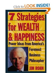 Seven Strategies for Wealth and Happiness: Amazon.co.uk: Jim Rohn: Books