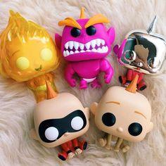 I suddenly want to collect all Jack Jack Funko Pops Photo not mine. DM or comment for credit Disney Pixar, Pop Disney, Arte Disney, Figurine Disney, Pop Figurine, Jack And Jack, Funko Pop Figures, Vinyl Figures, Action Figures