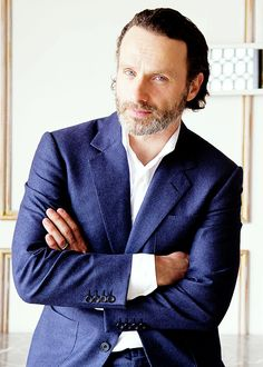 Andrew Lincoln - Rick z The Walking Dead. http://womanmax.pl/andrew-lincoln-rick-the-walking-dead/