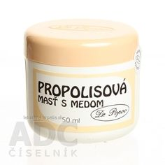 DR. POPOV MASŤ PROPOLIS + MED 1x50 ml