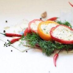 Холодные закуски из фаршированного перца