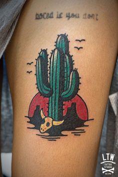 Cacti Tattoos by LTW Tattoo Studio