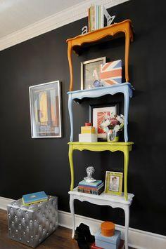 Crafty bookcases by Dabble's DIY Guy, Nicholas Rosaci.