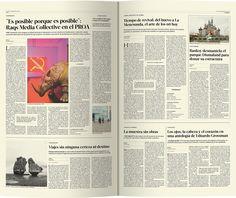 Maquetación y diseño del periódico Quimera y suplemento FC2015. Trabajo realizado para la materia Tipografía 2 Cátedra Cosgaya - FADU UBA