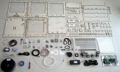 """thezonkzone: """" My brother Malte is a real perfectionist. Things Organized Neatly, 3d Printer Kit, Photo Wall, Layout, Organization, Cool Stuff, Frame, Projects, Getting Organized"""