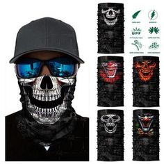 Girl's Hats Motivated Quick Dry Breathable Mask Hat Men Women Personality Outdoor Riding Sunscreen Full Face Cartoon Mask 3d Animal Skull Hats Cheap Sales Girl's Accessories