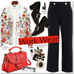 Work Wear by oshint on Polyvore featuring NARS Cosmetics and Louis Vuitton