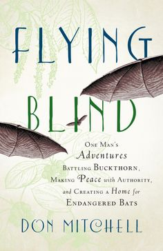 Flying Blind: One Man's Adventures Battling Buckthorn, Making Peace with Authority, and Creating a Home for Endangered Bats - See more at: http://www.chelseagreen.com/bookstore/item/flying_blind:hardcover#sthash.J7rW1xmm.dpuf