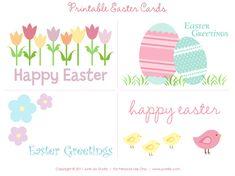 Free Printable Easter Cards junelilystudio