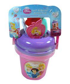 Look at this #zulilyfind! Princess Bubble Bucket Set by Disney #zulilyfinds