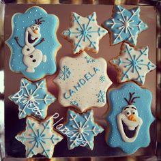 Frozen. Decoradas con glasa. #dulcesplaceresbymer www.facebook.com/dulcespaceresbymer  Instagram @dulcesplaceresbymer