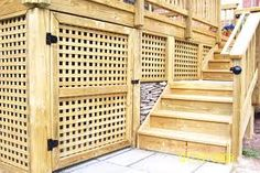 deck skirting - Google Search
