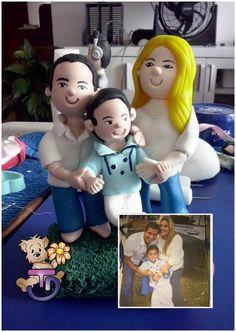 Familia personalizada  #porcelanafría #craft #craft #panamá #507
