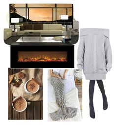 """""""Winter coming"""" by fashionlovestyle ❤ liked on Polyvore featuring interior, interiors, interior design, home, home decor, interior decorating and Shiraleah"""