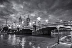 Princes Bridge Tower Bridge, Melbourne, Prince, Victoria, Australia, Travel, Trips, Viajes, Traveling