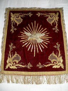 antique goldwork - ecclesiastical embroidery - lovely