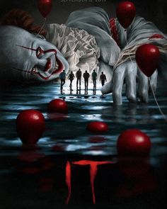 Movie: It Chapter Two Movie: It Chapter Two 27 years after overcoming the malevolent supernatural entity Pennywise, the former members of the Losers Club, who have grown up and moved away from Derry, are brought back together by a devastating phone call. Jay Ryan, Horror Icons, Horror Movie Posters, It Horror Movie, Best Horror Movies, Horror Show, Horror Art, Es Stephen King, Scary Wallpaper