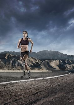Running by Tim Tadder, via Behance