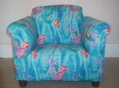 75 00 Little Mermaid Toddler Arm Cair Room Decor