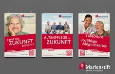 Gestaltung von verschiedenen Plakaten