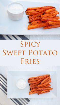 ... food craving! Sriracha powder gives these sweet potato fries a kick
