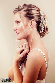 MUA  Marina Villanueva Estilismo  Ernesto Terrón Modelo  Amy Penalver   wedding  bridal  hairdo  hairdressing e0212eb694e