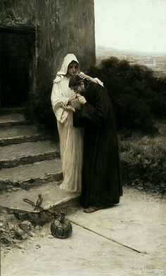 Stachiewicz Christ's farewell to Mary.