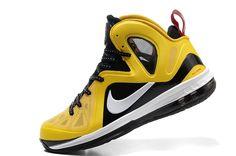 Lebron James 9 P.S. Elite Yellow black!$63.00USD