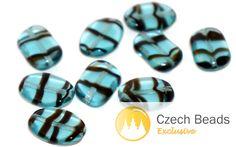 ✔ What's Hot Today: Black Blue Clear Striped Oval Czech Glass Beads Bohemian Beads Czech Flat Oval Beads Wave Glass Beads Striped Beads 12mm x 8mm 16pc https://czechbeadsexclusive.com/product/black-blue-clear-striped-oval-czech-glass-beads-bohemian-beads-czech-flat-oval-beads-wave-glass-beads-striped-beads-12mm-x-8mm-16pc/?utm_source=PN&utm_medium=czechbeads&utm_campaign=SNAP #CzechBeadsExclusive #czechbeads #glassbeads #bead #beaded #beading #beadedjewelry #handmade