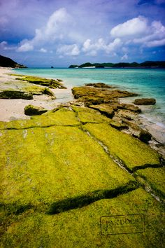 Kitahama Beach - Okinawa - In Aka you can dive, snorkel or swim in its clear waters. Many turtles and tropical fish live there. A true paradise, lost in…