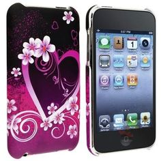 Snap-on Rubber Coated Case compatible with Apple iPod Touch / Generation Iphone 4s, Apple Iphone, Ipod Touch, Phone Accessories, Iphone 4