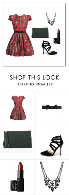"""""""#DressWell For A Formal Christmas"""" by guide2style on Polyvore featuring White House Black Market, Anne Michelle, NARS Cosmetics, Thalia Sodi, holiday and officeparty"""