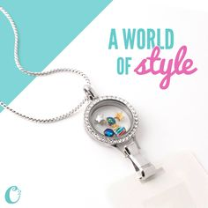 Origami Owl Lanyard Locket! Choose the charms that tell YOUR story!