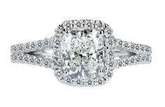 2.75 CARAT cushion diamond royal engagement by diamondsfromnewyork
