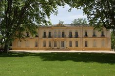 Aix En Provence, France - this chateau with a freestone exterior and a classical Louis XIV facade was built in the 17th century - 19 bedrooms; 9 baths; 21,530 sq ft; available for $ 12.3 million...