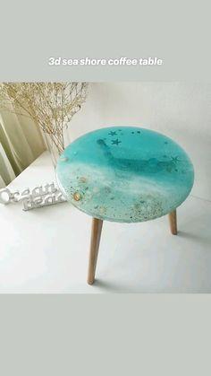 Epoxy Resin Art, Diy Resin Art, Diy Resin Crafts, Resin And Wood Diy, Resin Wall Art, Diy Epoxy, Wood Resin, Wood Painting Art, Wood Art